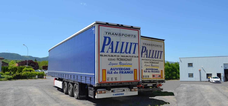 Camion, Véhicule tracté, Krone, Tautliner avec Hayon